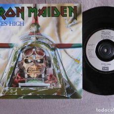 Dischi in vinile: IRON MAIDEN 7 SINGLE. ACES HIGH. UK. Lote 207723155