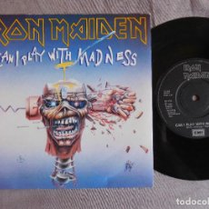 Discos de vinilo: IRON MAIDEN 7 SINGLE. CAN I PLAY WITH MADNESS. UK. Lote 207723892