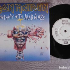 Discos de vinilo: IRON MAIDEN 7 SINGLE. CAN I PLAY WITH MADNESS. UK. Lote 207724193