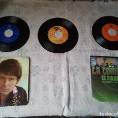 Discos de vinilo: TRES DISCOS DE VINILO RETRO DE RAPHAEL, MIKE KENNEDY Y LA COMPAÑÍA. ANTIGUOS DJ. Lote 207724507