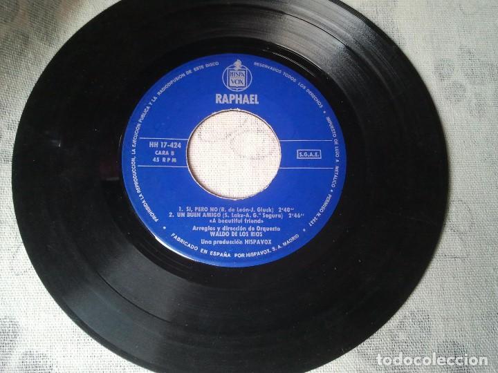 Discos de vinilo: Tres discos de vinilo retro de Raphael, Mike Kennedy y la Compañía. Antiguos DJ - Foto 5 - 207724507