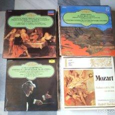 Discos de vinilo: LOTE DE 78 DISCOS DIFERENTES COLECCIONES Y EDICIONES. Lote 207727633