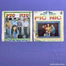Discos de vinilo: SINGLE - LOTE DE 2 SINGLES PIC NIC. Lote 207730897