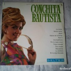Discos de vinilo: ANTIGUO DISCO DE VINILO DE CONCHITA BAUTISTA. DJ´S MUSICA FOLCLORE ESPAÑOLA LP. Lote 207731456