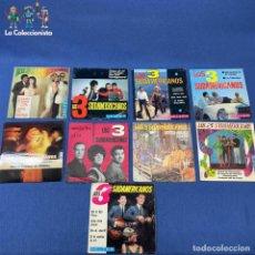 Discos de vinilo: LOTE 9 SINGLES DE LOS 3 SUDAMERICANOS - VER DESCRIPCIÓN. Lote 207732170