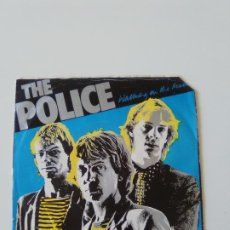 Discos de vinilo: THE POLICE WALKING ON THE MOON / VISIONS OF THE NIGHT ( 1979 A&M HOLLAND ) STING. Lote 207733802