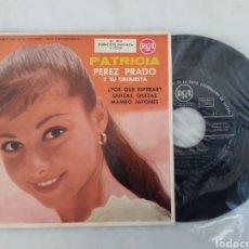 Discos de vinilo: PATRICIA PEREZ PRADO Y SU ORQUESTA. Lote 207734645