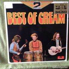 Discos de vinilo: CREAM - THE BEST OF CREAM DOBLE LP FRANCE. NM-NM. Lote 207735816