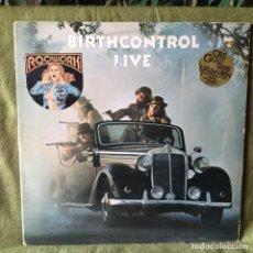 Discos de vinilo: BIRTH CONTROL - LIVE / DOBLE LP PROG ROCK GERMANY. VG+/NM. Lote 207737145