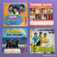 Discos de vinilo: SINGLE - LOTE DE 4 SINGLES DE LOS MISMOS - EL PUENTE - UNA VEZ -SUGAR SUGAR- JUNGLE JANGLE. Lote 207737371