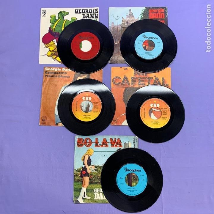 Discos de vinilo: SINGLE - LOTE DE 5 SINGLES GEORGIE DANN- CASATSCHOK -MI CAFETAL -CAMPESINO PALOMA - BOLAVA -EL DIN. - Foto 3 - 207738636