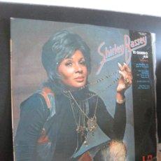 Discos de vinilo: SHIRLEY BASSEY. TE QUIERO ASI. LP UNITED ARTIST RECORDS 1972.. Lote 207739372