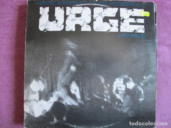 URGE ?– LISTEN CAREFULLY TO THE POWERFULL URGE OUTBURST (GERMANY, SPIRIT FAMILY RECORDS 1990) (Música - Discos - LP Vinilo - Punk - Hard Core)