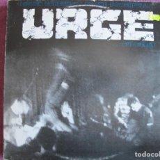 Discos de vinilo: URGE ?– LISTEN CAREFULLY TO THE POWERFULL URGE OUTBURST (GERMANY, SPIRIT FAMILY RECORDS 1990). Lote 207740811