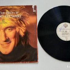 Dischi in vinile: 0620- THE BEST OF ROD STEWART LP 1986 GERMANY VIN POR VG+ DIS VG ++. Lote 207743525