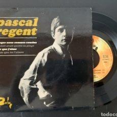 Discos de vinilo: RAREZA!!! PASCAL REGENT. PUISQUE NOUS SOMMES COUSINS+ 3 TEMAS. FRANCIA. BARCLAY. 700810.. Lote 207744676