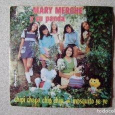 Discos de vinilo: MARY MERCHE Y SU PANDA.CHIPI CHAPA CHIP CHIP + 1....PEDIDO MINIMO 5€. Lote 207748488