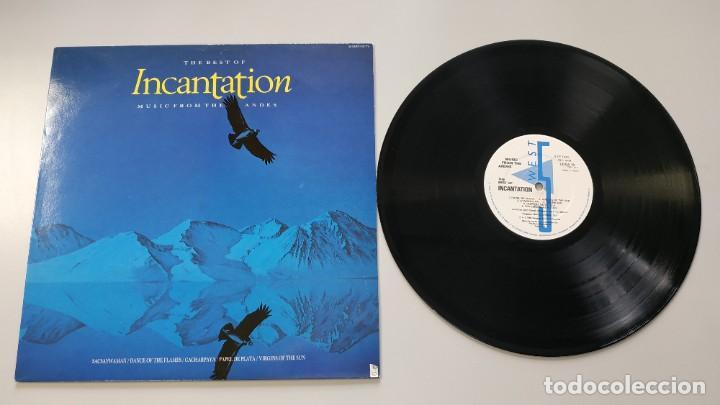 0620- THE BEST OF INCATATION MUSIC FROM ANDES LP 1985 VIN POR NM DIS M (Música - Discos - LP Vinilo - Otros estilos)
