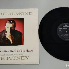 Disques de vinyle: 0620- MARC ALMOND SOMETHINGS GOTTEN HOLD OF MY HEART SING VIN 89 UK P NM D NM. Lote 207750272