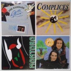 """Discos de vinilo: [[ LOTE 7"""" 45RPM ]] CÓMPLICES / JUANJO & TOMAS / LOS MANOLOS -CARTA DE AMOR / MONTORO. Lote 207622935"""