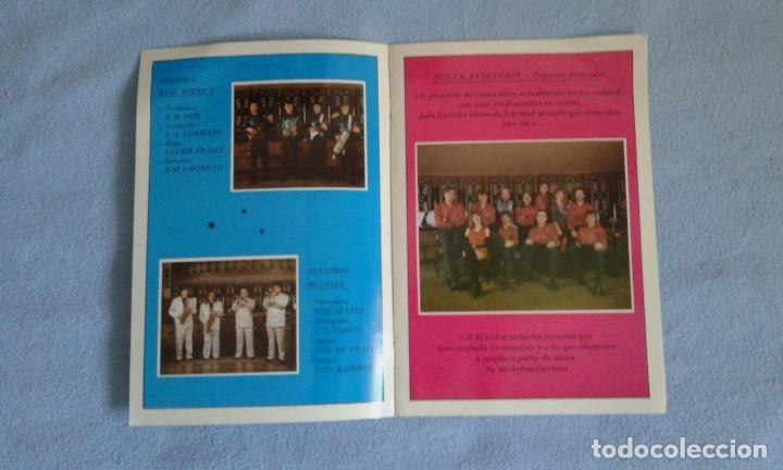 Discos de vinilo: CUADRÍPTICO NUEVA EVOLUCION ORQUESTA ESPECTACULO - 25X17 CM..- BUEN ESTADO - Foto 2 - 207759375