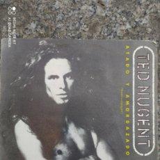 Discos de vinilo: TED NUGENT. ATADO Y AMORDAZADO. SINGLE VINILO. Lote 207760641
