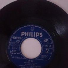 Discos de vinilo: SINGLE - LOBO - AÑO 1973 -VER FOTOS. Lote 207764087