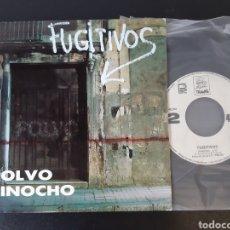 Discos de vinilo: FUGITIVOS. POLVO. PINOCHO. TRANVÍA. SN-45.041. 1987. SPAIN. EX. Lote 207766810