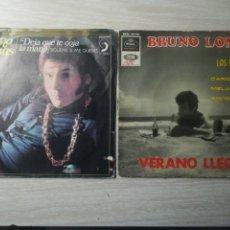 Discos de vinilo: BRUNO LOMAS EP+SINGLE. Lote 207772193