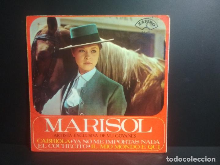 Discos de vinilo: MARISOL - EL COCHECITO + 3 - EP ZAFIRO 1965 pepeto - Foto 2 - 207779725