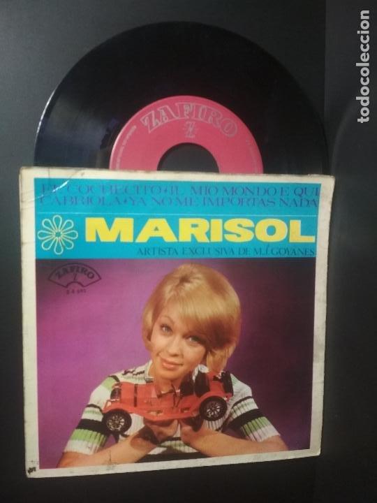 MARISOL - EL COCHECITO + 3 - EP ZAFIRO 1965 PEPETO (Música - Discos de Vinilo - EPs - Solistas Españoles de los 50 y 60)