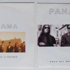 """Discos de vinilo: (LOTE 2 MAXIS) PANAMA -CADA VEZ QUE TU TE VAS / PANAMA -EN UNA SOLA NOCHE [LOTE 7"""" 45RPM]. Lote 207781646"""