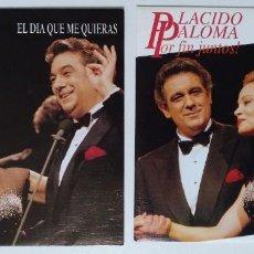 """Discos de vinilo: ( LOTE 2 MXS ) PLÁCIDO DOMINGO & PALOMA SAN BASILIO -BÉSAME MUCHO -EL DÍA QUE ME QUIERAS [ 7"""" 45RPM]. Lote 207784105"""