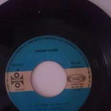 Discos de vinilo: SINGLE - FERNANDO ALLENDE - AÑO 1978 -VER FOTOS. Lote 207787931