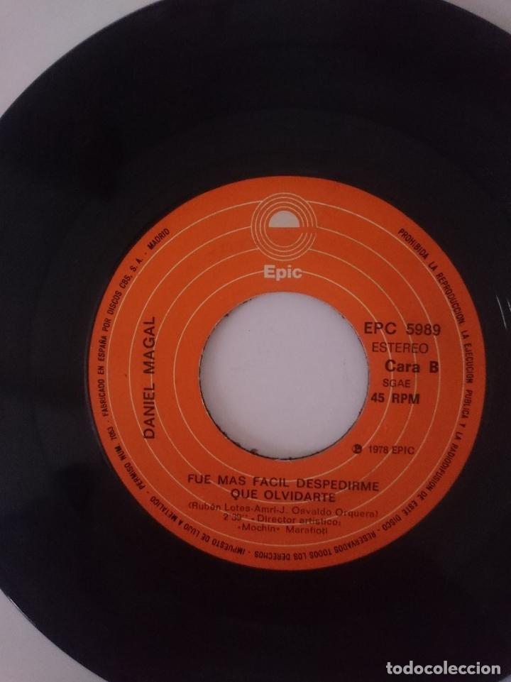 Discos de vinilo: SINGLE - DANIEL MAGAL --- AÑO 1978 -VER FOTOS - Foto 2 - 207788031