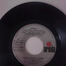 Discos de vinilo: SINGLE - CANARIOS - AÑO 1975 -VER FOTOS. Lote 207788147