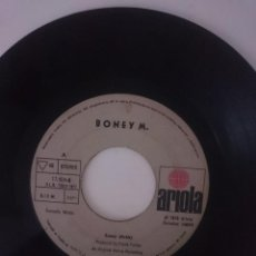 Discos de vinilo: SINGLE - BONEY M ---- AÑO 1976 -VER FOTOS. Lote 207788192