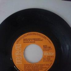 Discos de vinilo: SINGLE - B.S.O. SERIE TELEVISION SANDOKAN - AÑO 1976 -VER FOTOS. Lote 207788227