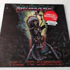 Discos de vinilo: LP MELIAH RAGE - KILL TO SURVIVE. Lote 74172699