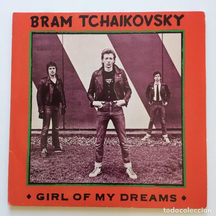 BRAM TCHAIKOVSKY ?– GIRL OF MY DREAMS 2 SINGLES UK 1979 RADAR RECORDS (Música - Discos - Singles Vinilo - Punk - Hard Core)