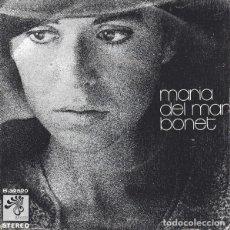 Discos de vinilo: MARIA DEL MAR BONET – EM DIUS QUE EL NOSTRE AMOR - SINGLE SPAIN 1973. Lote 207817272