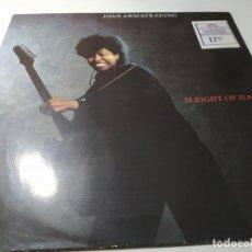 Disques de vinyle: LP - JOAN ARMATRADING – SLEIGHT OF HAND - 395 130-1 ( VG+ / VG+ ) EURO 1986. Lote 207825877