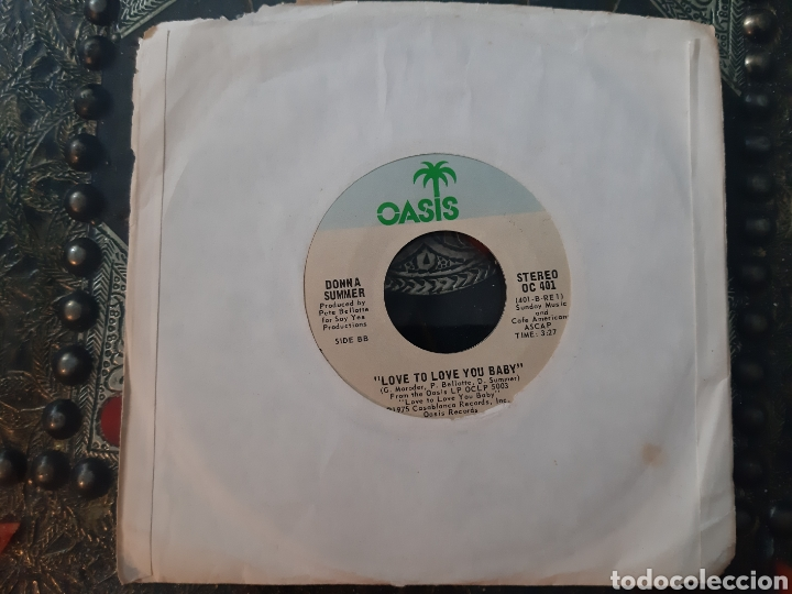 Discos de vinilo: DONNA SUMMER. LOVE TO LOVE TOU BABY. OASIS. MADE IN USA. 1975 - Foto 3 - 207837418