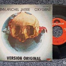 Discos de vinilo: JEAN MICHEL JARRE - OXYGENE / VERSIÓN ORIGINAL. EDITADO POR POLYDOR. AÑO 1.977. Lote 207844530