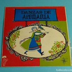 Discos de vinilo: RITMOS Y DANZAS. DANZAS DE ALEMANIA. EP / EDIGSA-4 VENTS - 1969. Lote 207858461