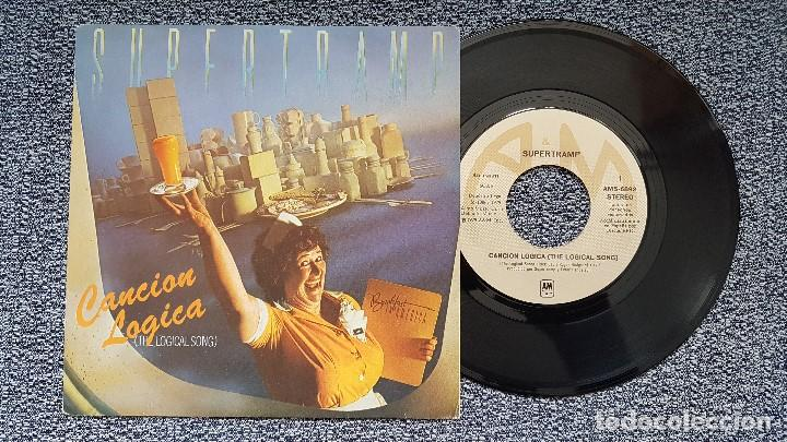 SUPERTRAMP - THE LOGICAL SONG / JUST ANOTHER NERVOUS WRECK. AÑO 1.978. EDITADO POR CBS (Música - Discos de Vinilo - Maxi Singles - Pop - Rock Extranjero de los 50 y 60)