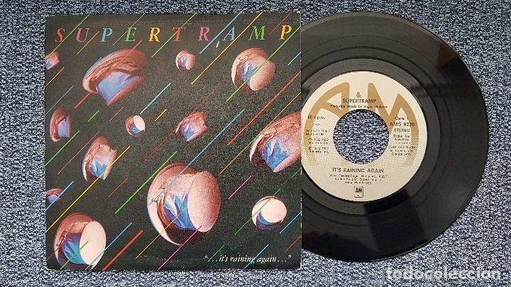 SUPERTRAMP - IT´S RAINING AGAIN / BONNIE. EDITADO POR CBS. AÑO 1.982 (Música - Discos de Vinilo - Maxi Singles - Pop - Rock Extranjero de los 50 y 60)