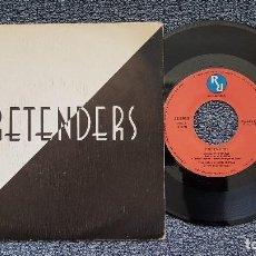 Discos de vinilo: PRETENDERS - BRASS IN POCKET / SWINGING LONDON. EDITADO POR HISPAVOX. AÑO 1.979. Lote 207860947