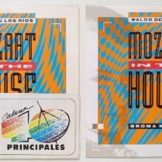 """Discos de vinilo: ((LOTE 2 MAXIS)) WALDO DE LOS RIOS -MOZART IN THE HOUSE [[ VINILO 7"""" 45RPM ]] CADENA 40 PRINCIPALES. Lote 207862297"""