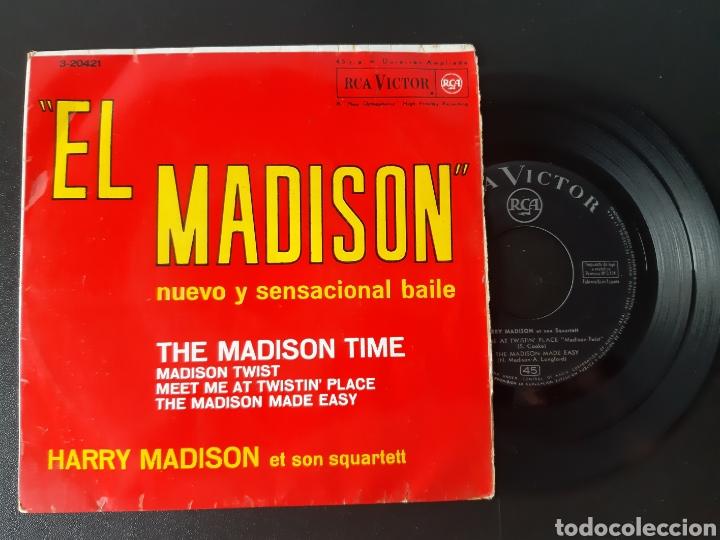 HARRI MADISON. THE MADISON TIME. MADISON TWIST. +2 TEMAS. RCA. 1962 (Música - Discos de Vinilo - EPs - Orquestas)
